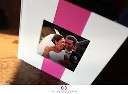 White Wedding Album Sample Wedding Album White And Pink With A Metal Photo