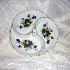 sweet violets 007 violets porcelain and serveware