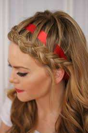 braided headband 12 ways to rock ribbon in your hair brit co