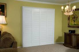 Vinyl Accordion Closet Doors Closet Shutter Style Closet Doors Ideas Accordion Doors Home