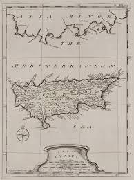 Map Of Cyprus File A Map Of Cyprus Pococke Richard 1745 Jpg Wikimedia Commons