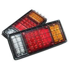 trailer tail lights for sale pair 12v 60leds car tail lights stop indicator ls for trucks