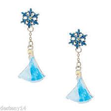 front and back earrings s disney s frozen elsa front back earrings nwt ebay