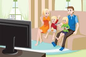 livingroom cartoon living room with tv clipart clip art library