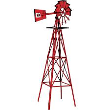 international harvester red garden windmill u2014 8ft h www kotulas