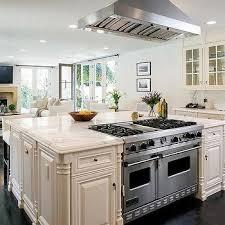 range in island kitchen square kitchen island design ideas