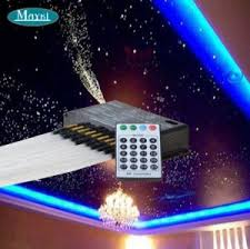 led star lights ceiling china shooting star lights for twinkle star ceiling with 200pcs 2m