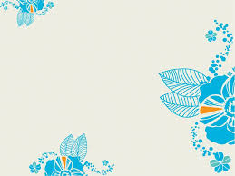 cute powerpoint templates turquoise flower powerpoint templates