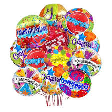mylar balloon bouquet congratulations mylar balloon bouquet