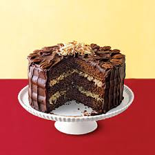 bake sale classics cakes german chocolate chocolate cake and