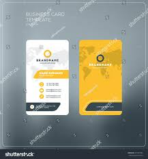 business card print template company logo stock vector 451565584