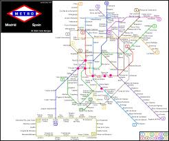 Munich Subway Map by Madrid Metro Map U2013 The College U0027s Guide To Study Abroad