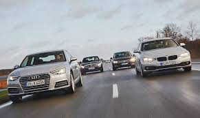audi a4 comparison turbo battle audi a4 versus bmw 3er mercedes c class vw