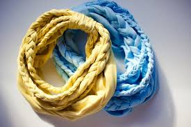 braided scarf braided scarf colors and craft