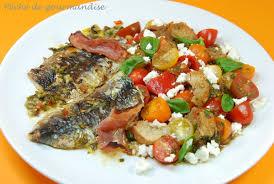 cuisiner des filets de sardines fraiches filets de sardines salade toscane au d après oliver