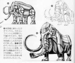 henshin grid 100 gaoranger power animals concept designs