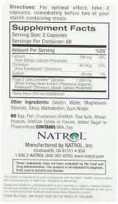 Dual Diagnosis Worksheets Amazon Com Natrol White Kidney Bean Carb Intercept 120 Capsules