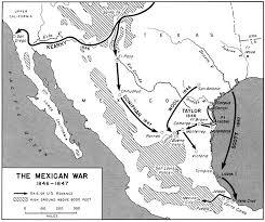 westward expansion mexican war map assignment