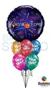 graduation 36 inch balloon bouquet 7 balloons vancouver jc balloon