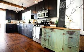 distressed green kitchen cabinets k design turquoise kitchen