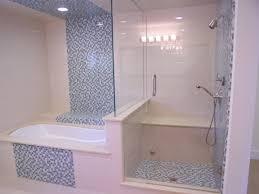 bathroom rectangle bathtub with steel rain head shower brown ideas bathroom bathtub brown wall tiles and