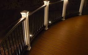 trex post cap lights trex deck lighting wct distributors