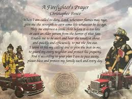 firefighter gift personalized firefighter prayer gift