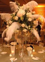 feather and flower centerpieces flowers ideas