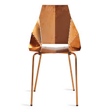 Chairs by Copper Real Good Chair Copper Dining Chairs Blu Dot