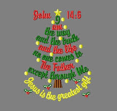 I Am The Light The Way Buy 3 Get 1 Free Christmas Tree Embroidery Design John 14 6