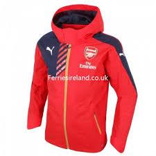 Bench Rain Jacket Good Feeling Puma Jackets Arsenal Puma Long Bench Coat Jacket Grey
