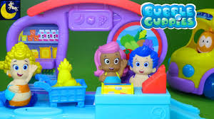 bubble guppies toys shopping at bubbletucky market with deema gil