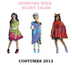 monster scary tales halloween costumes