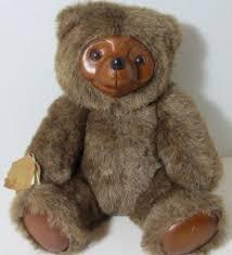1995 robert raikes bears wood cameo pink teddy 3209