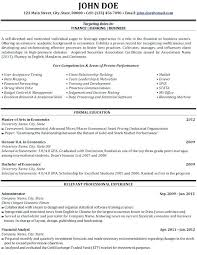 business resume exles free business resume template resumes templates development