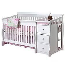 Changing Table Crib Baby Cribs With Changing Table Combo Shop Ishoppy