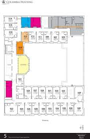 Dormitory Floor Plans by Broadway Hall Housing