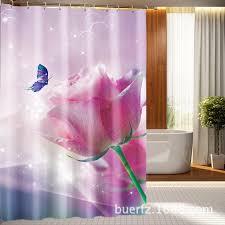 Shower Curtains Unique Online Buy Wholesale Tulip Shower Curtain From China Tulip Shower