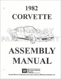 1968 1982 chevrolet corvette c3 restoration guide