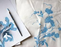 Paint Design by Diy Project China Pattern Pillows U2013 Design Sponge