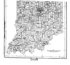 Iu Map Guide Apportionment Reapportionment In Indiana Indiana