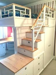 Steps For Bunk Bed Stairs Bunk Bed Canalcafe Co