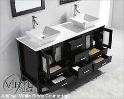 usa 60 sink bathroom vanity bradford espresso vu md 4305