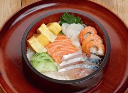 cuisine japonaise traditionnelle comment préparer un chirashi de poissons recette