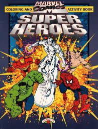 spiderfan org comics marvel comics super heroes color activity