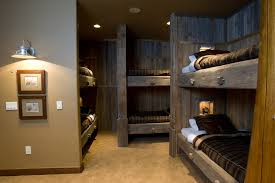 Industrial Bunk Beds Bunk Beds Bedroom Traditional With Wood Bunk Beds