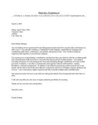 Sample Resume Event Coordinator by Event Coordinator Cover Letter Event Coordinator Cover Letter