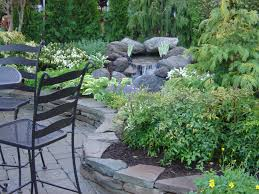 decks and landscape design features great view 1822 garden ideas