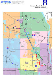 Minneapolis Light Rail Map Transit Planners Say North Minneapolis Concerns A Factor In