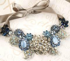 light blue statement necklace new england wedding new england wedding attire